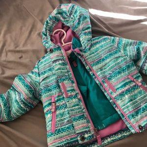 Multipurpose jacket for toddler girls